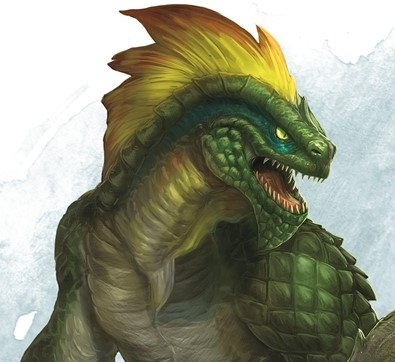 Monster Tactics Fight Like A Lizardman To Include The Shaman