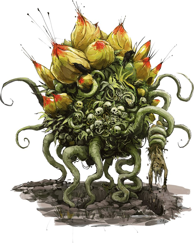 Monster Tactics Fight Like A Corpse Flower Angry Golem Games
